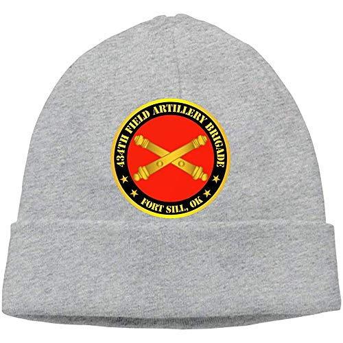 LinUpdate-Store 434th Field Artillery NDE W Branch Ft Sill Ok Berretti muts doodshoofd volwassenen muts