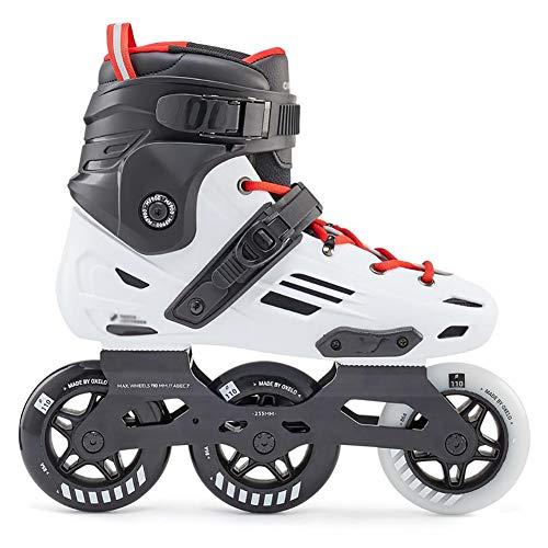 ZHYLOVE Frauen Inline Dreirad Rollschuhe Sport Im Freien Für Kinder Inline Skateschuhe Einreihig Für Kinder Und Männer Inline Eisschnelllaufschuhe Anfänger