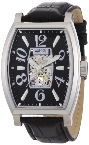 Esprit Herren-Armbanduhr ChronographAutomatik Leder EL900191001