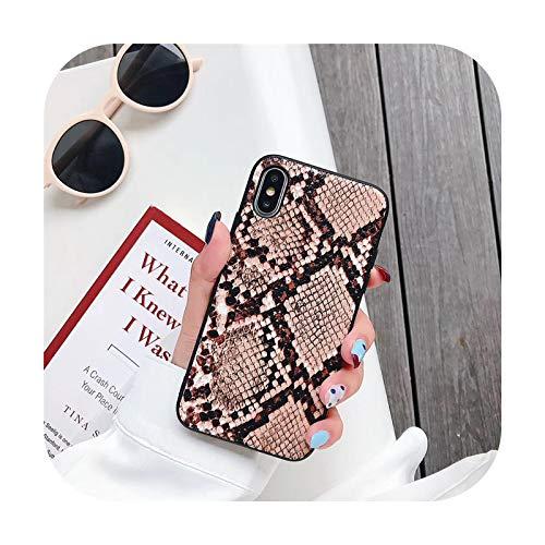 Phone cover Funda de teléfono vintage para iPhone Xr Xs Max X Matte Soft Tpu casos para iPhone 6 6S 7 8 Plus lujo contraportada - 5-Para Iphone Xr