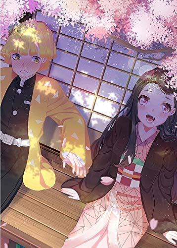 JHGJHK Devil Anime Killer Pintura al óleo Creativa Anime Fans decoración del Dormitorio Regalo (Imagen 5)