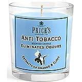 Bargainstore Price's FR100616 - Vela antitabaco perfumada en tarro, elimina los olores de fumar, olor a naranja y clavo de olor