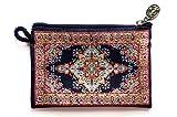 Oriental Carpet Coin Purse - Kerman Design