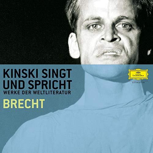 Kinski singt und spricht Brecht cover art