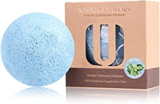 Natural Konjac Baby Sponge | Gentle On Baby Body & Face | Suitable for Newborn & Toddlers | Soft & Gentle | Perfect for Se...