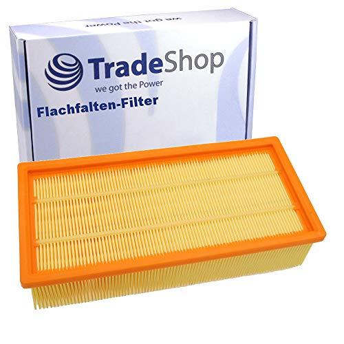 Filtro de pliegues planos de repuesto para Kärcher NT 65/2 Eco NT 65/2 Eco Tc NT 72/2 Eco Tc NT 75/2 Ap Me Tc Hilti VC 60-U