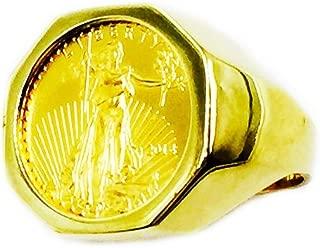 liberty coin ring