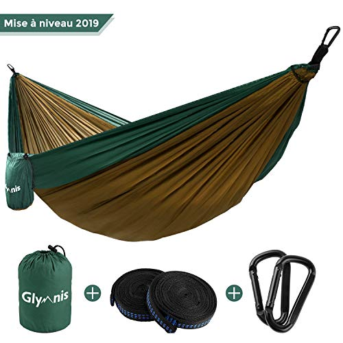 Glymnis Hamac Camping Ultra-léger de Voyage en...
