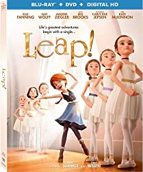 Leap! on Blu-ray, DVD, and Digital HD from Lionsgate
