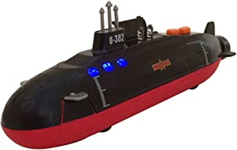 HKJC Alloy submarine toys military ships warships back to sound and light toys