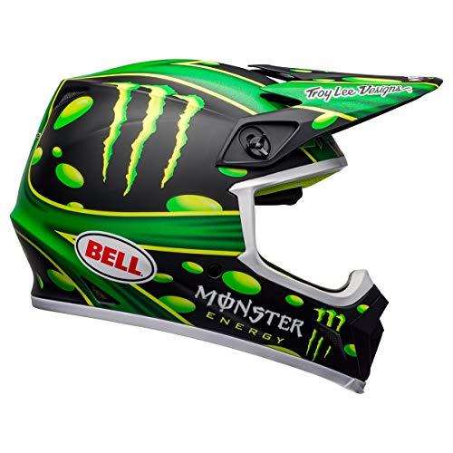 Bell MX-9 MIPS Dirt Helmet (McGrath Showtime Replica Matte Black/Green - XX-Large)