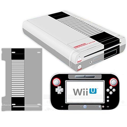 Vanknight Nintendo Wii U Console Controller Skin Set Vinyl Decal Stickers Cover