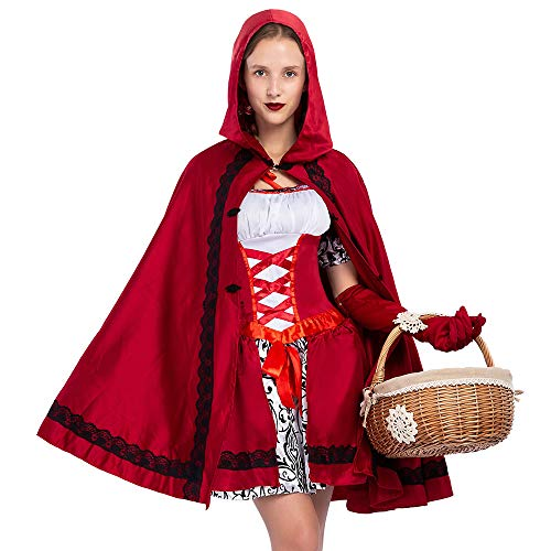 Spooktacular Creations Little Red Riding Hood Halloween Costume for Women Adult Role-Playing (Large) - http://coolthings.us