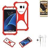 K-S-Trade® Mobile Phone Bumper + Earphones For Allview P8