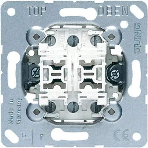 Jung schakelaar & knop Multi-Switch dubbele knop 532-4U, aluminium