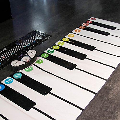 The Big Piano - Piano alfombra gigante (2,5metros) con 10 instrumentos y 4...