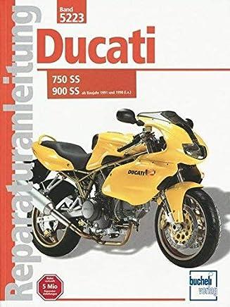 Ducati 600/750/900 SS/i.e. ab Baujahr 1997. Mit SS Baureihe ab 1991. by Giulio Pepe Thomas Jung(2000-03-01)