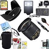 Nikon (20067 AF-P DX NIKKOR 10-20mm f/4.5-5.6G VR Lens + 64GB Ultimate Filter & Flash Photography Bundle