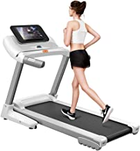 Coolbaby 3.5 HP Incline Motorized Walking and Jogging Treadmill with 10.1-Inch Touchscreen Display and WiFi