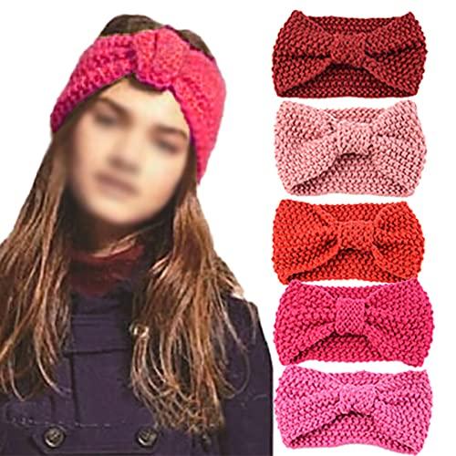 Gebreide Hoofdbanden voor Vrouwen Winter Warm Gehaakte Hoofd Wrap Elastische Vrouwen Kabel Gebreide Hoofdbanden…
