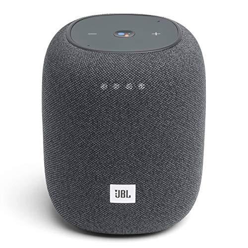 JBL Link Music Compact Smart Speaker (Gray)