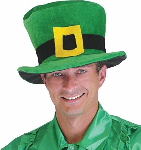 DEGUISE TOI - Chapeau Velours Vert Saint Patrick - Taille Unique
