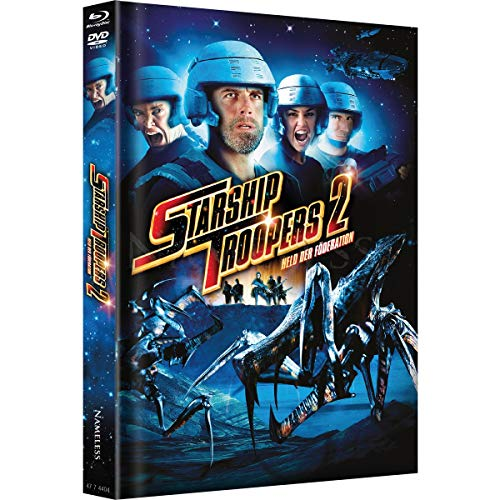 Starship Troopers 2 - Limited Mediabook Edition - DVD - Blu-ray