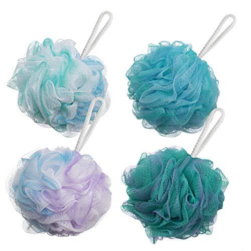 AmazerBath Shower Bath Sponge 60g/PCS Shower Loofahs Balls for Body...