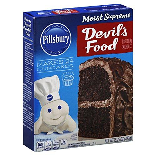 Pillsbury Moist Supreme Premium Cake Mix, Devil