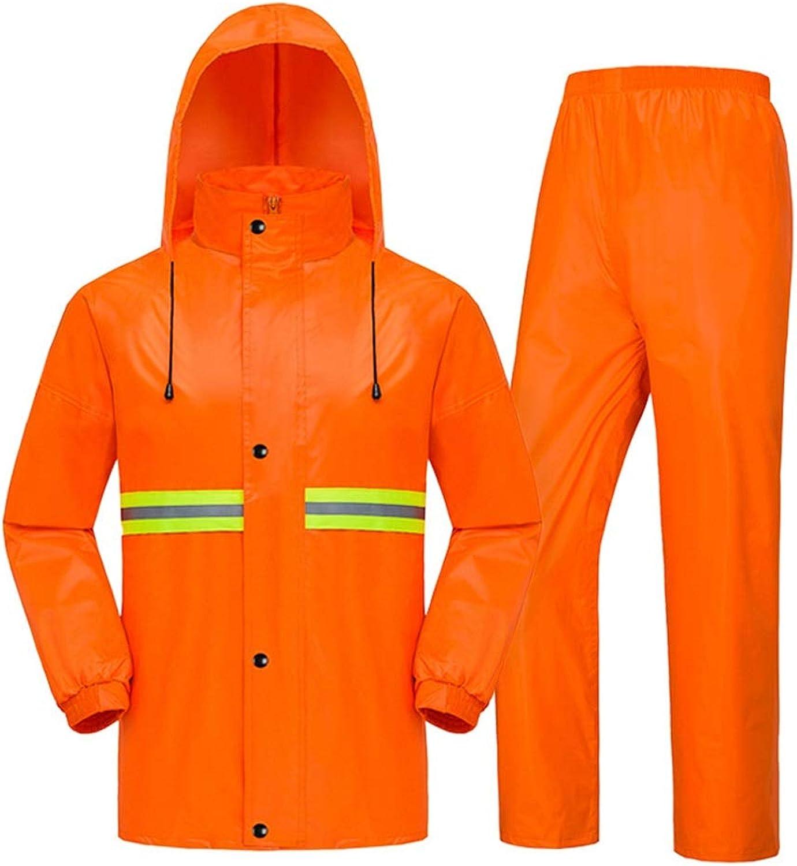 Pants Rain Raincoat Split and Men Raincoat Double Taffeta