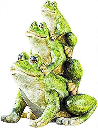 BOLTZE GRUPPE GmbH Dekoration Frosch 3er Figur Skultpur 13 cm
