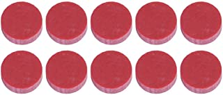 10 PCS Fretboard Markers, Red Guitar Dots Inlay Fretboard Markers for Guitar