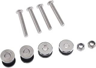 D DOLITY Metal Docking Hardware Kits for Harley Sportster XL883 1200 Detachable Sissy Bar Backrest Luggage Rack