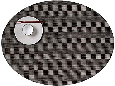 Chili Cédé Placemat Mini Basque Tweave Ovale U2013 Light Grey