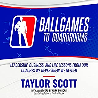 Ballgames to Boardrooms audiobook cover art