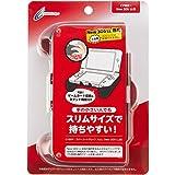 CYBER ・ ラバーコートグリップ スリム ( New 3DS LL 用) レッド 【 コンパクトタイプ 】