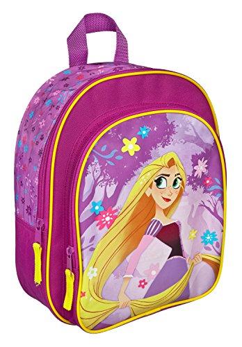 Rucksack mit Vortasche, Disney Rapunzel, ca. 31 x 25 x 10 cm