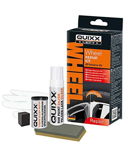 Quixx 10208/10209 Wheel Repair Kit de réparation pour Jantes Argenté