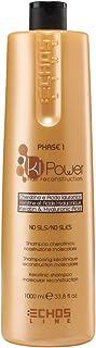 Echosline Ki-Power Phase 1 - Shampoo cheratinico ricostruzione molecolare, 1000 ml