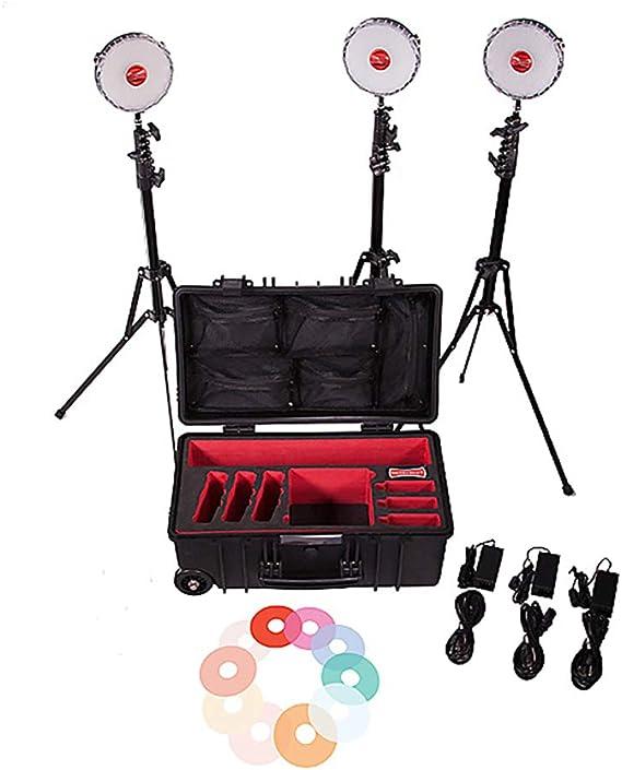 Rotolight Neo Ii Kit Mit 3 Leuchten Led Licht Kamera