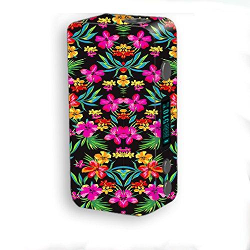 Skin Decal Vinyl Wrap for Smok Kooper Plus 200W Vape Mod Skins Stickers Cover / Tropical Flowers, Hawaii