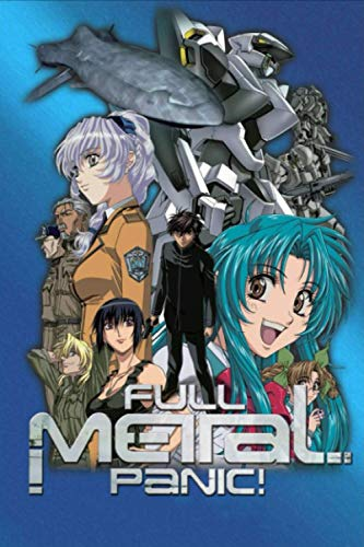 Full Metal Panic: Wide Ruled, Japanese Anime Notebook For Drawing, Writing, Painting, Sketching, Anime Lovers Gift Idea