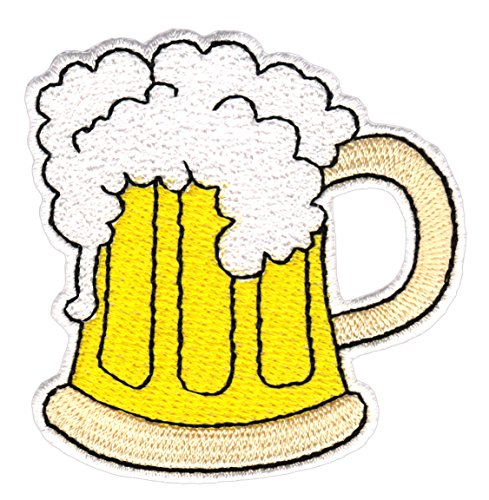 Cerveza Cristal Jarra de cerveza (parche plancha de
