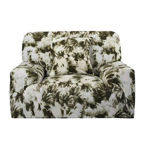Sourcingmap - Funda elástica para sofá o sofá Chair-1seater 35' - 55' verde oliva