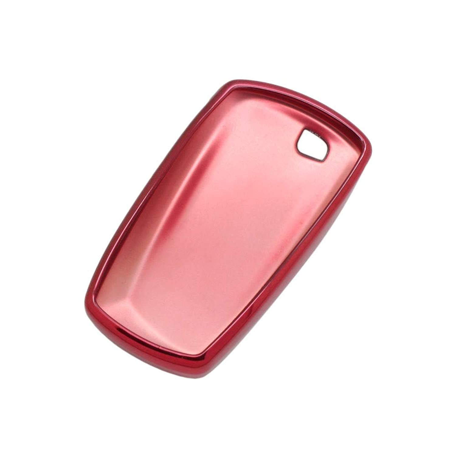 SEGADEN TPU Soft Case Shell Cover Protector Holder fit for BMW Smart Remote Key Fob 3 4 Button SV7901 Red