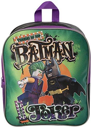 LEGO - Mochila escolar, diseño de la LEGO película  Batman Vs Joker Joker Vs Batman