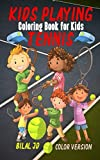 Tennis Coloring Book for Kids: Pocket Size Coloring Book for Kids (Tennis Coloring Books)