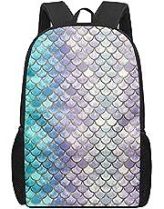 Amzbeauty Mode skolväska hipster dagväska personlig kreativ slitstark ryggsäck