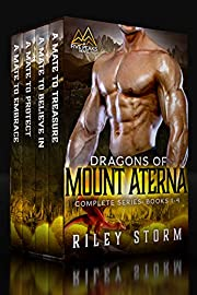 Dragons of Mount Aterna: The Complete Box Set (Five Peaks Shifters Book 1)