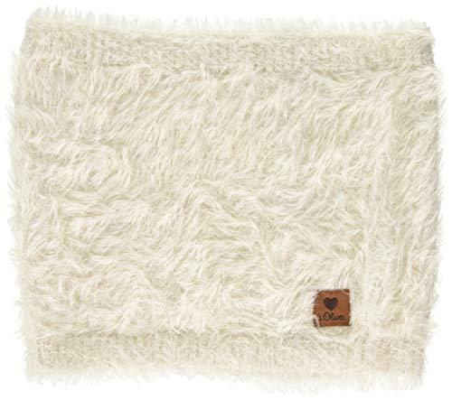 s.Oliver Mädchen 58.909.91.2827 Schal, Elfenbein (Ecru 0400), One Size (Herstellergröße: 1)